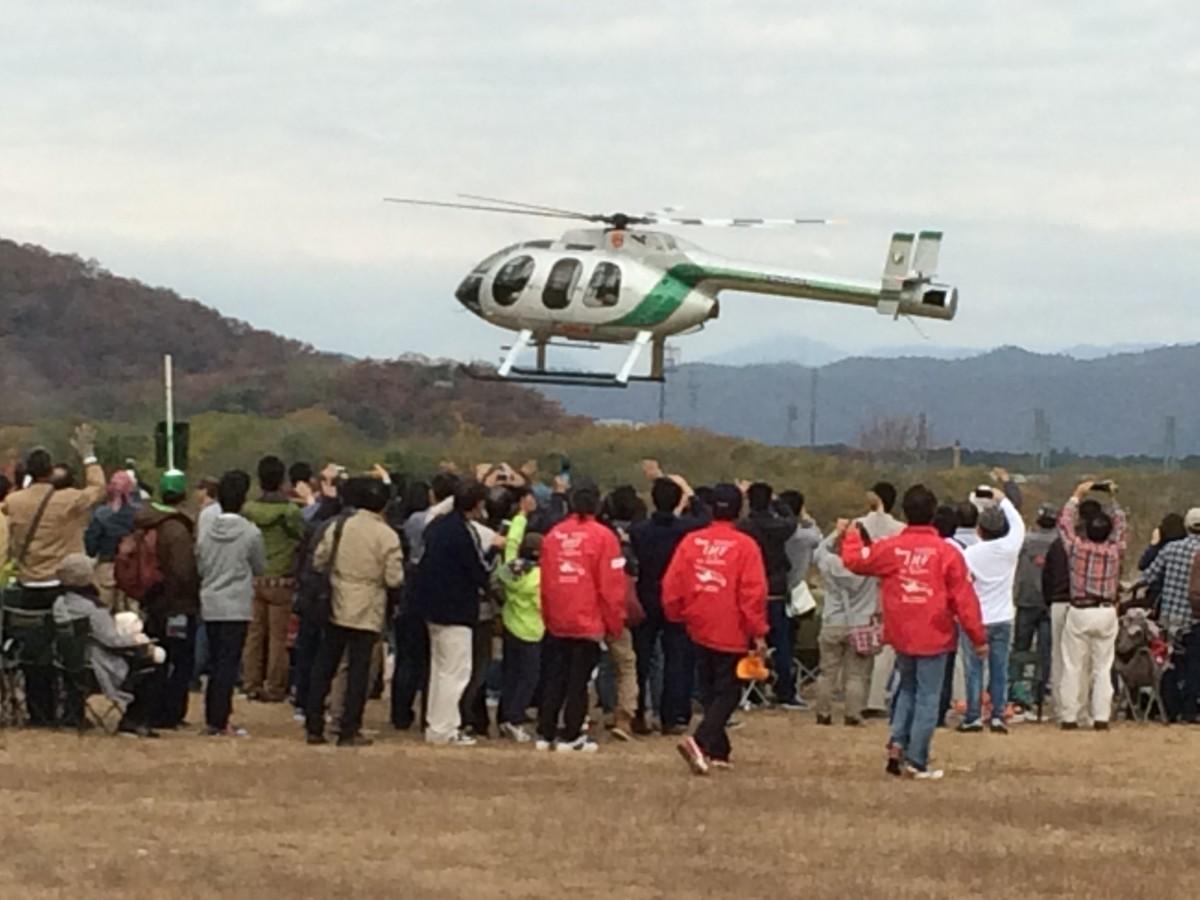 ビックイベント「RCヘリフェスタ2014 in 各務原」の当日!