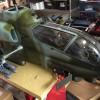 修理中のAH1-Wと出戻りのエンジン機オートロ用