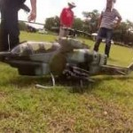 AH-1Wスーパーコブラ 機体調整、テストフライト