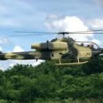 AH-1W 大型スケールヘリコプター IHF飛行場